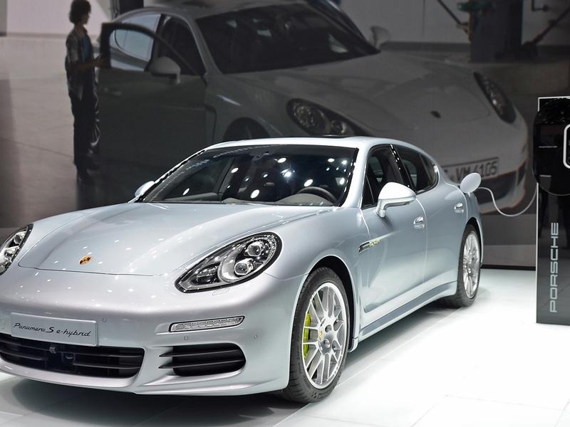 IAA 2013: Porsche Panamera S e-hybrid (Plug-in)